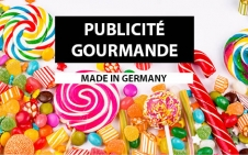 catalogue publicité gourmande